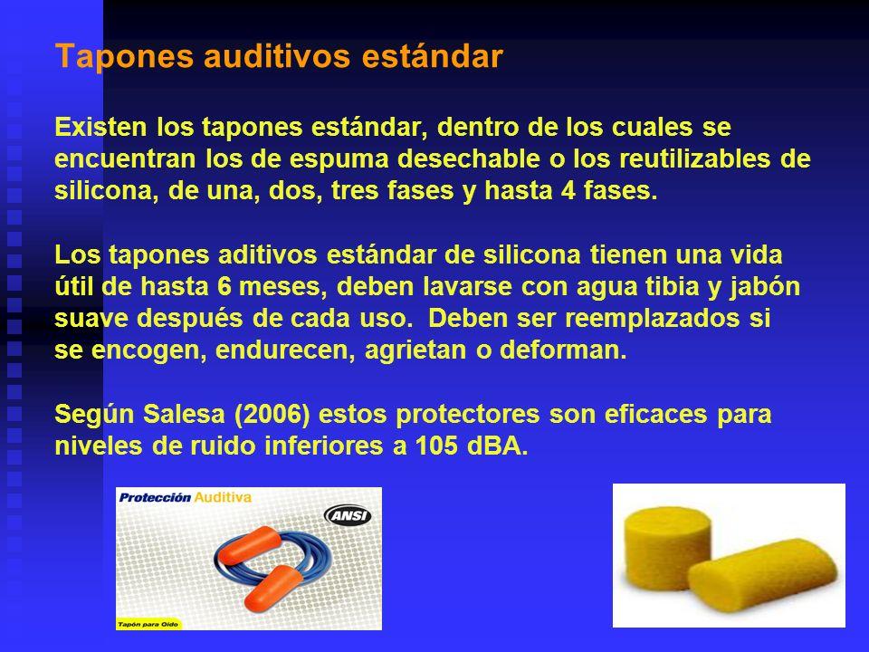 Tapones auditivos estándar