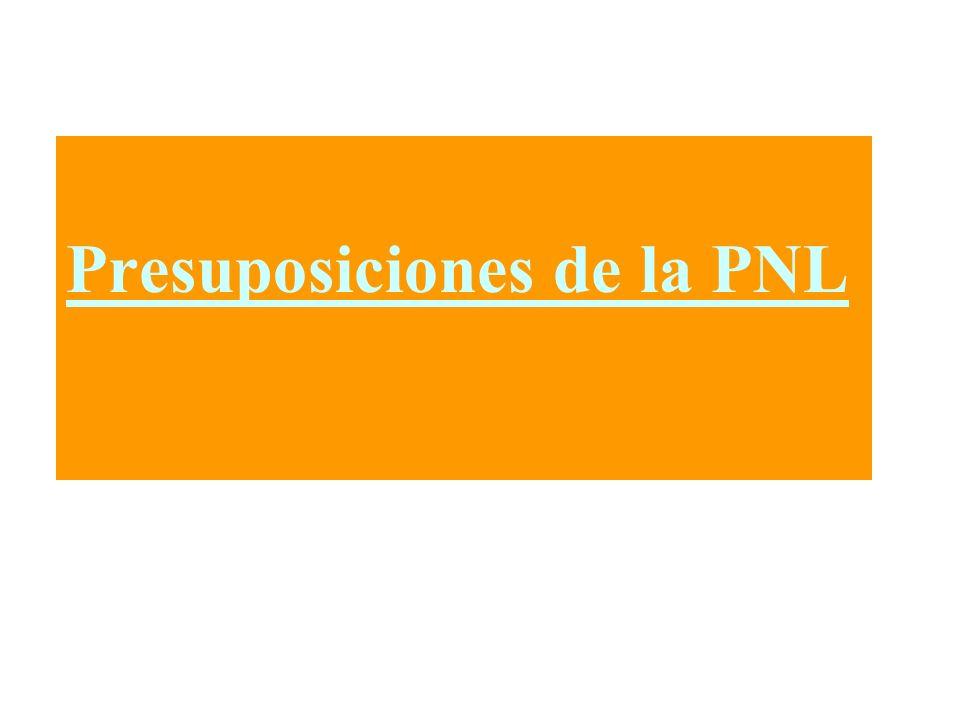 Presuposiciones de la PNL