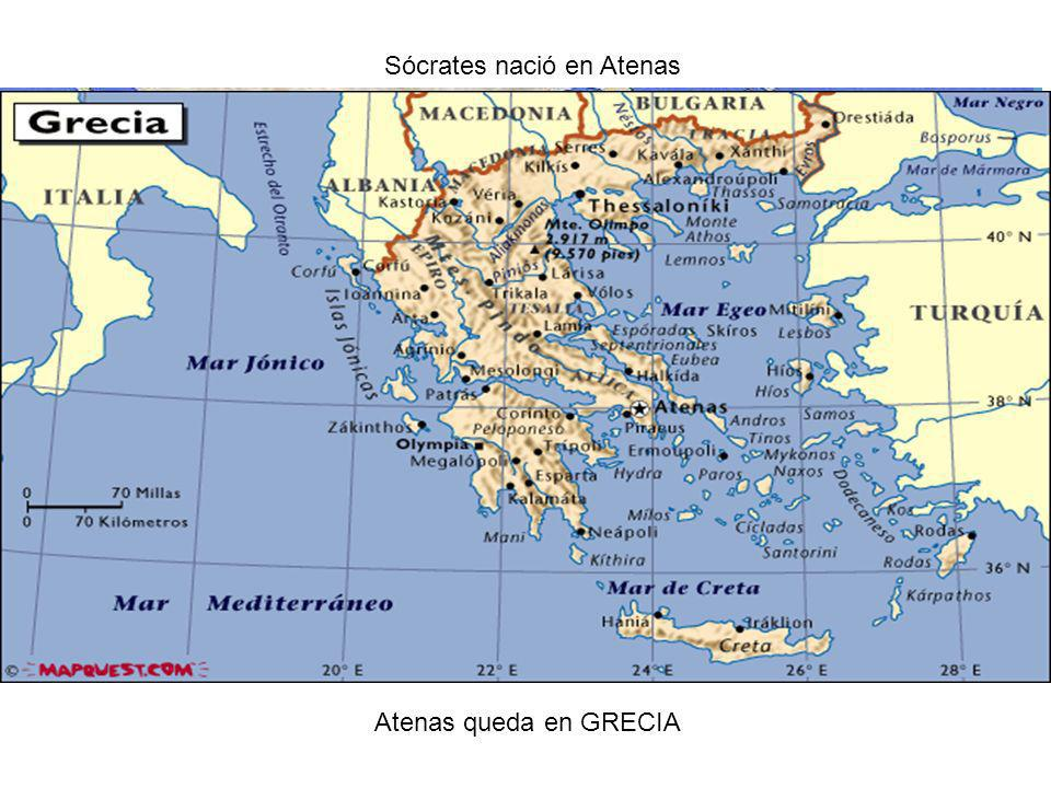 Sócrates nació en Atenas