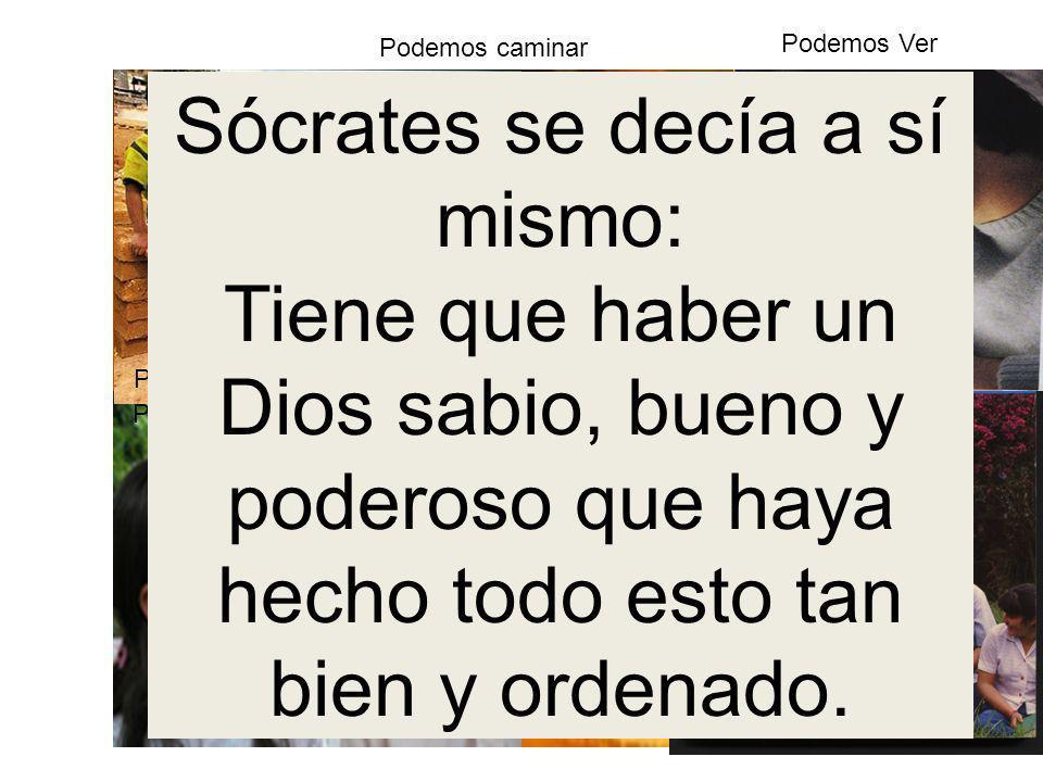 Sócrates se decía a sí mismo: