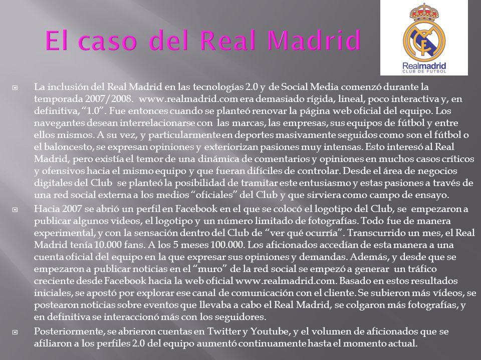 El caso del Real Madrid