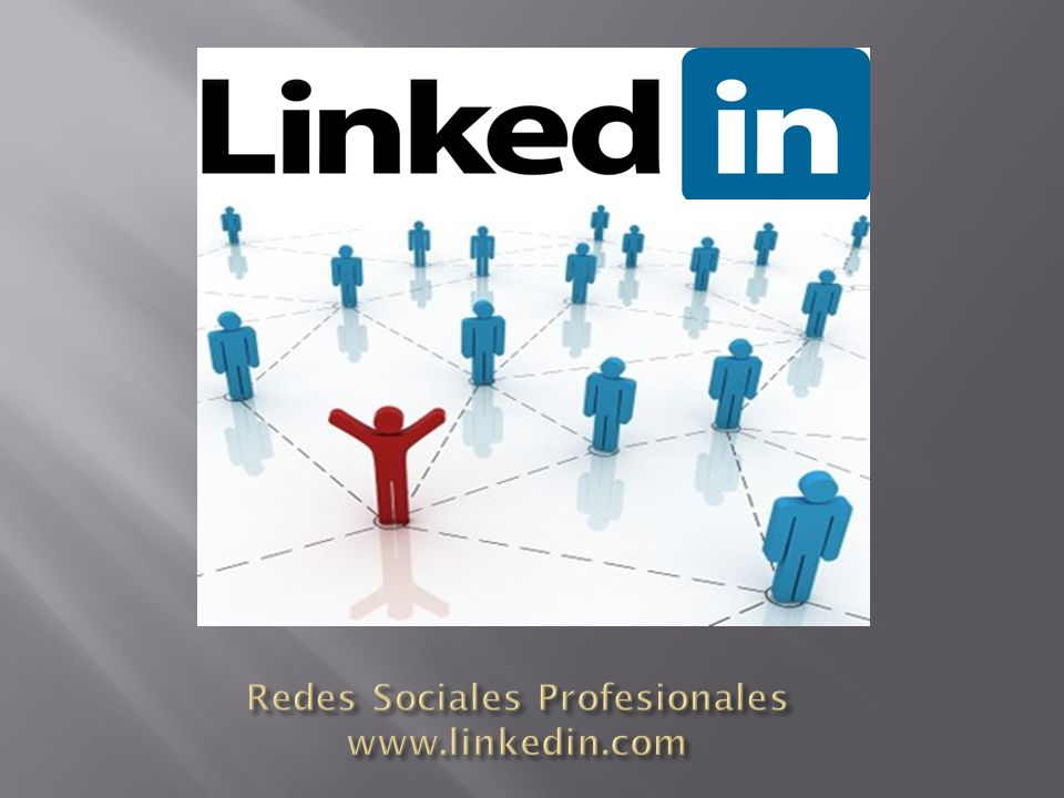 Redes Sociales Profesionales www.linkedin.com