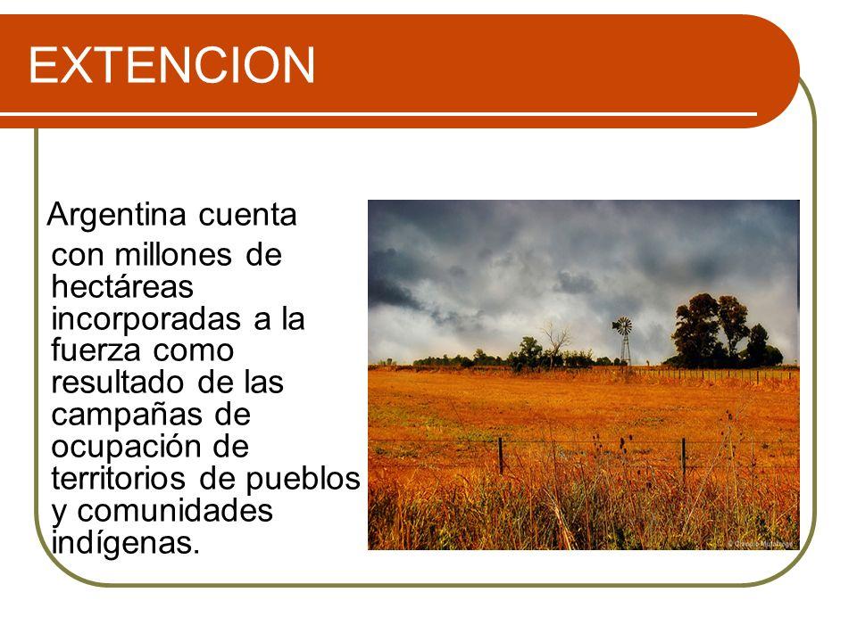 EXTENCION Argentina cuenta