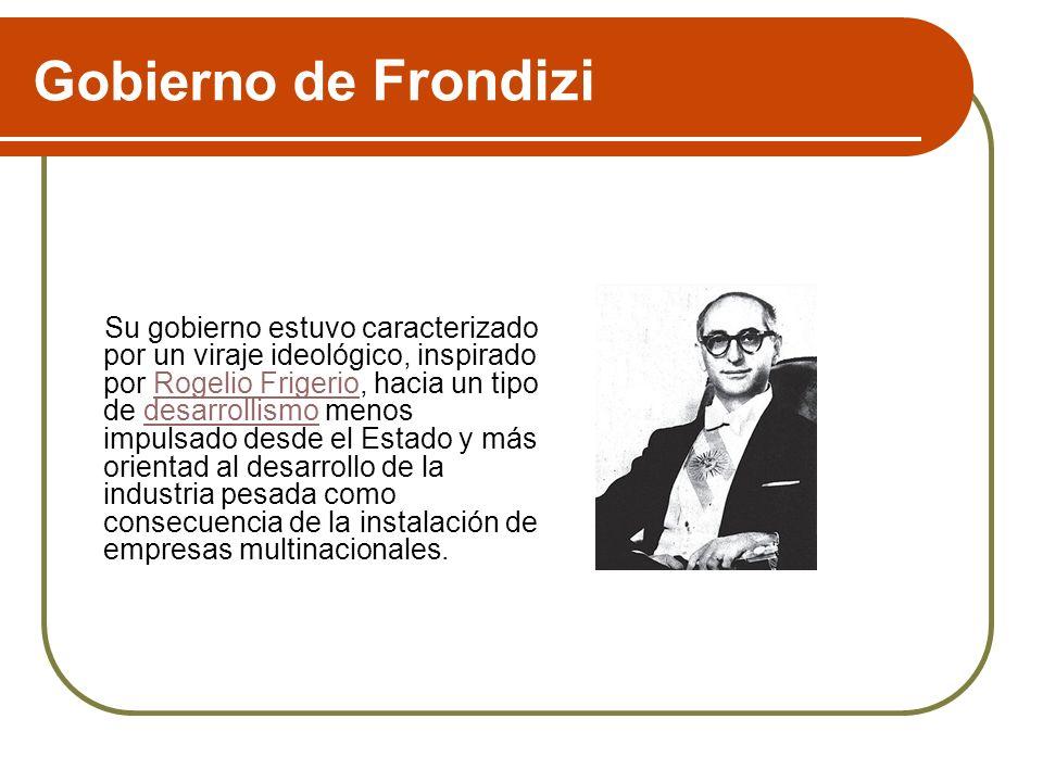 Gobierno de Frondizi