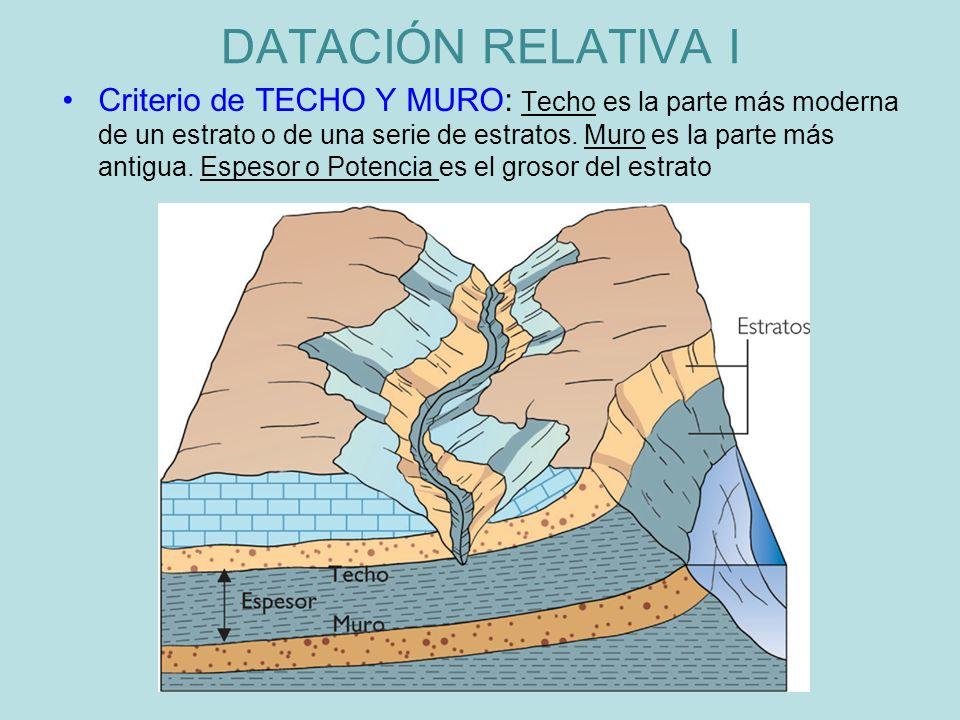 DATACIÓN RELATIVA I