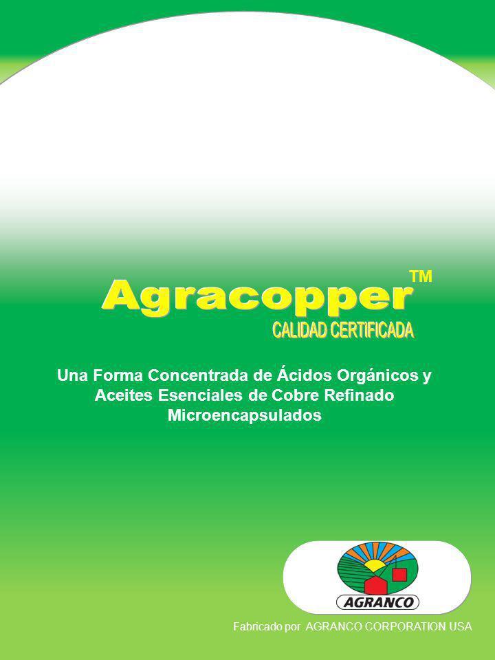 Agracopper CALIDAD CERTIFICADA TM