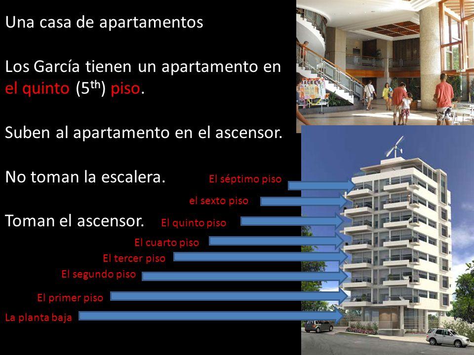 Una casa de apartamentos