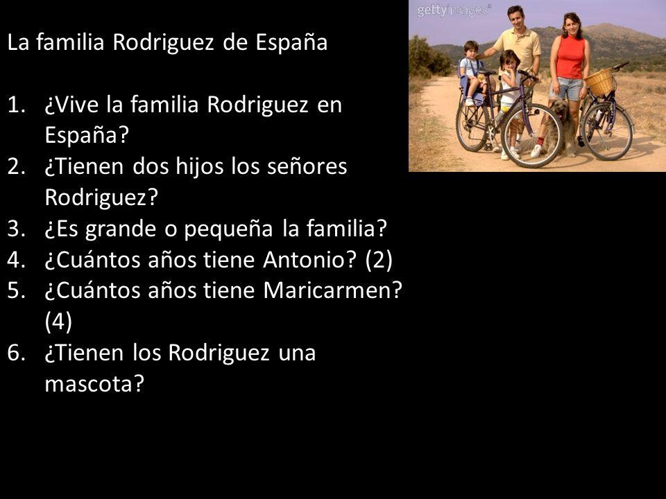 La familia Rodriguez de España