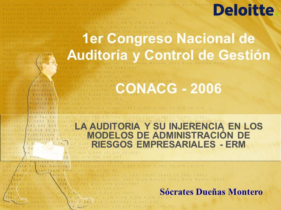 1er Congreso Nacional de Auditoría y Control de Gestión CONACG - 2006