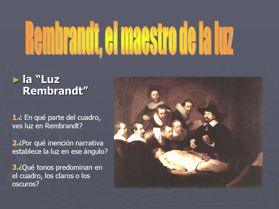 Rembrandt, el maestro de la luz