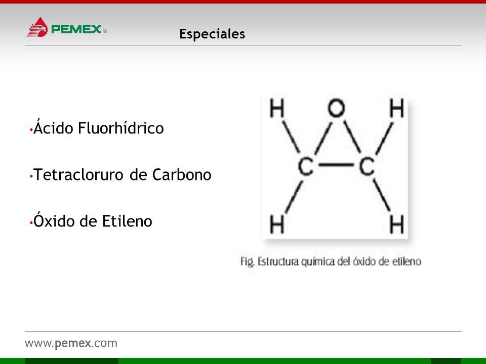 Tetracloruro de Carbono Óxido de Etileno