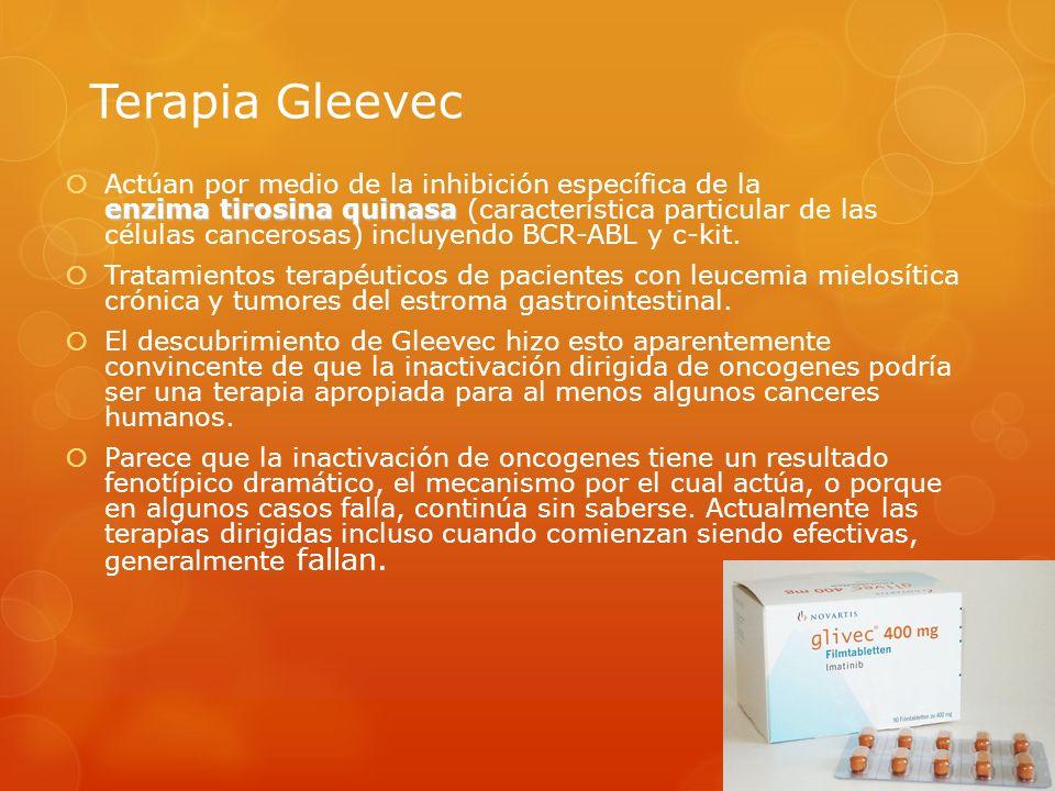 Terapia Gleevec