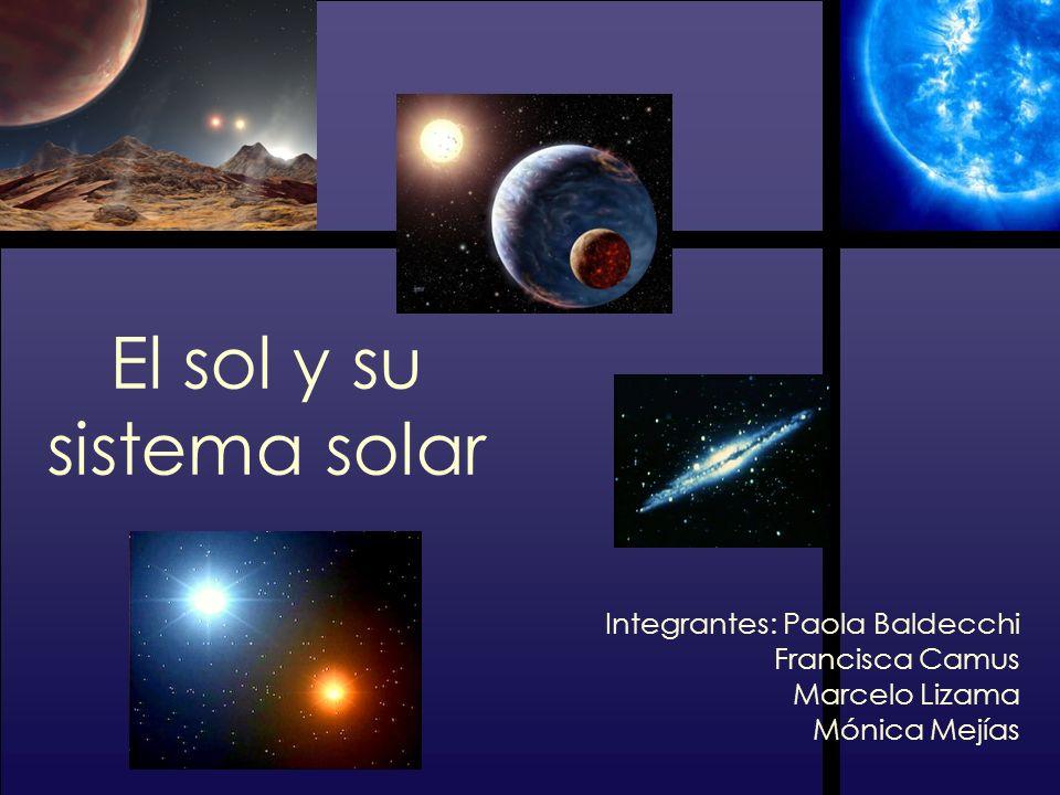 El sol y su sistema solar