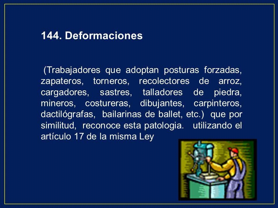 144. Deformaciones