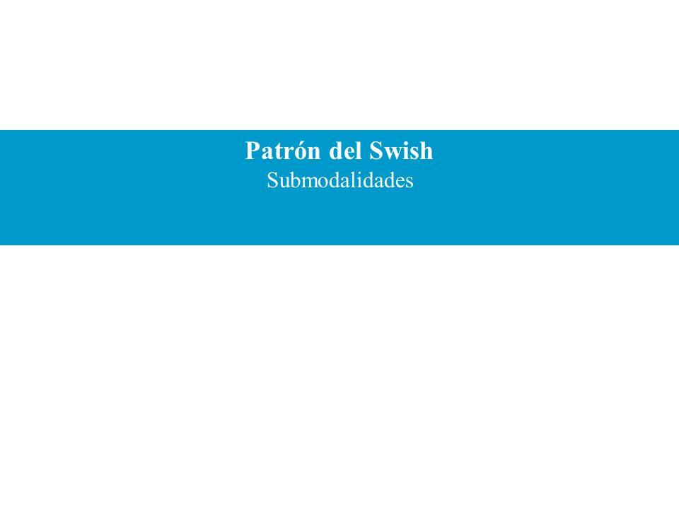 Patrón del Swish Submodalidades