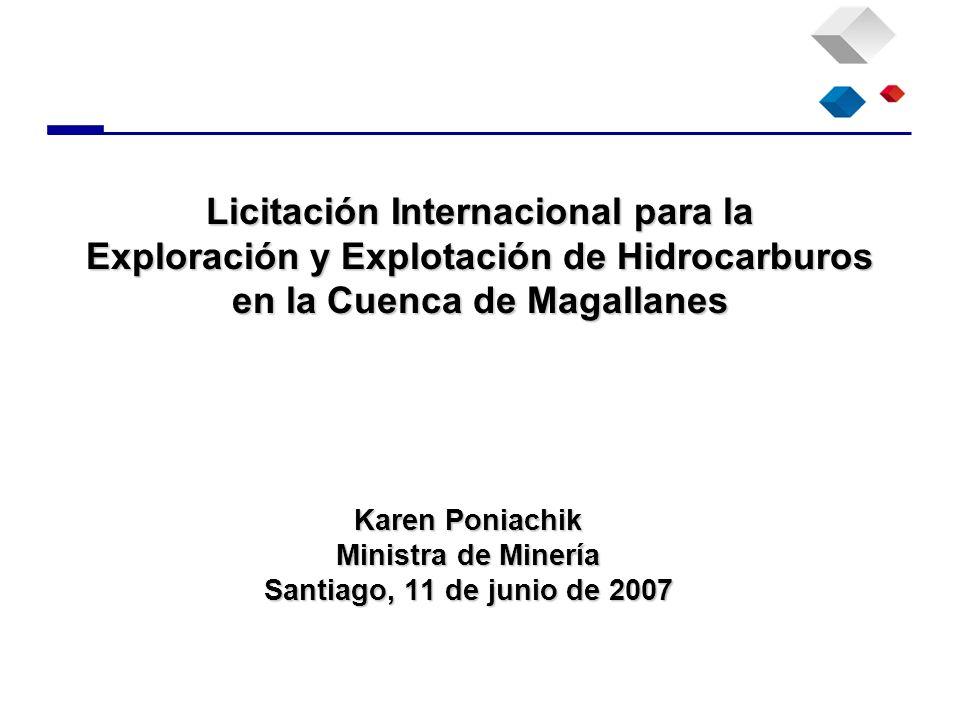Karen Poniachik Ministra de Minería Santiago, 11 de junio de 2007