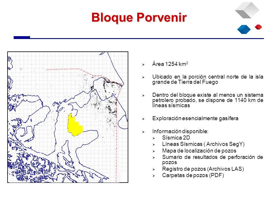 Bloque Porvenir Área 1254 km2