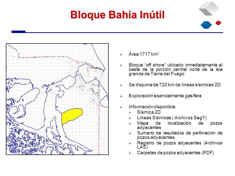 Bloque Bahía Inútil Área 1717 km2