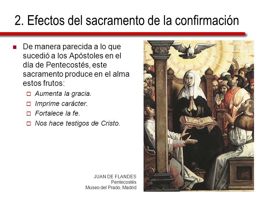 Efectos Del Matrimonio Catolico : En la confirmación se recibe el espíritu santo ppt descargar