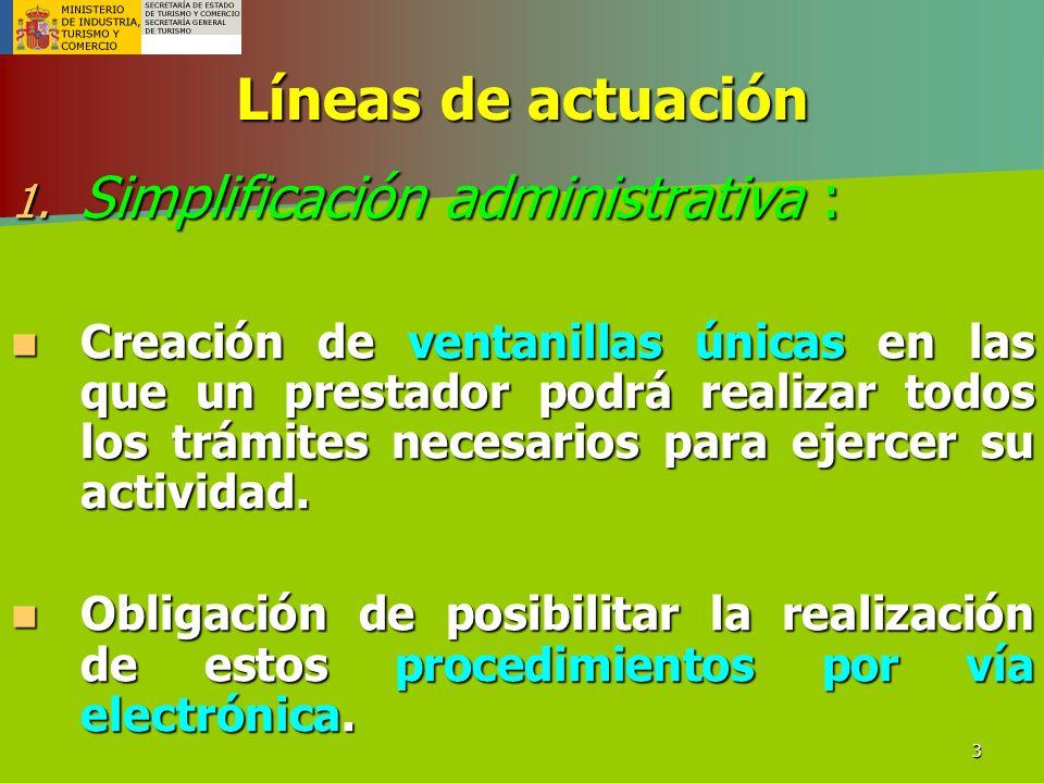 Simplificación administrativa :