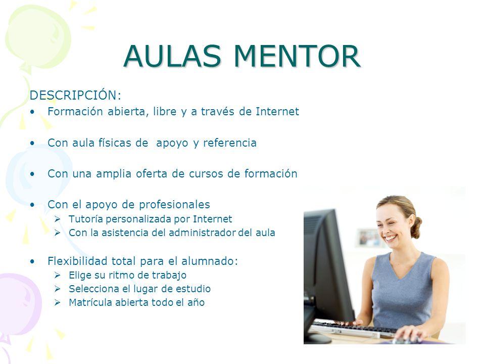 AULAS MENTOR DESCRIPCIÓN: