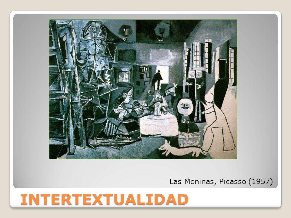 INTERTEXTUALIDAD Las Meninas, Picasso (1957)