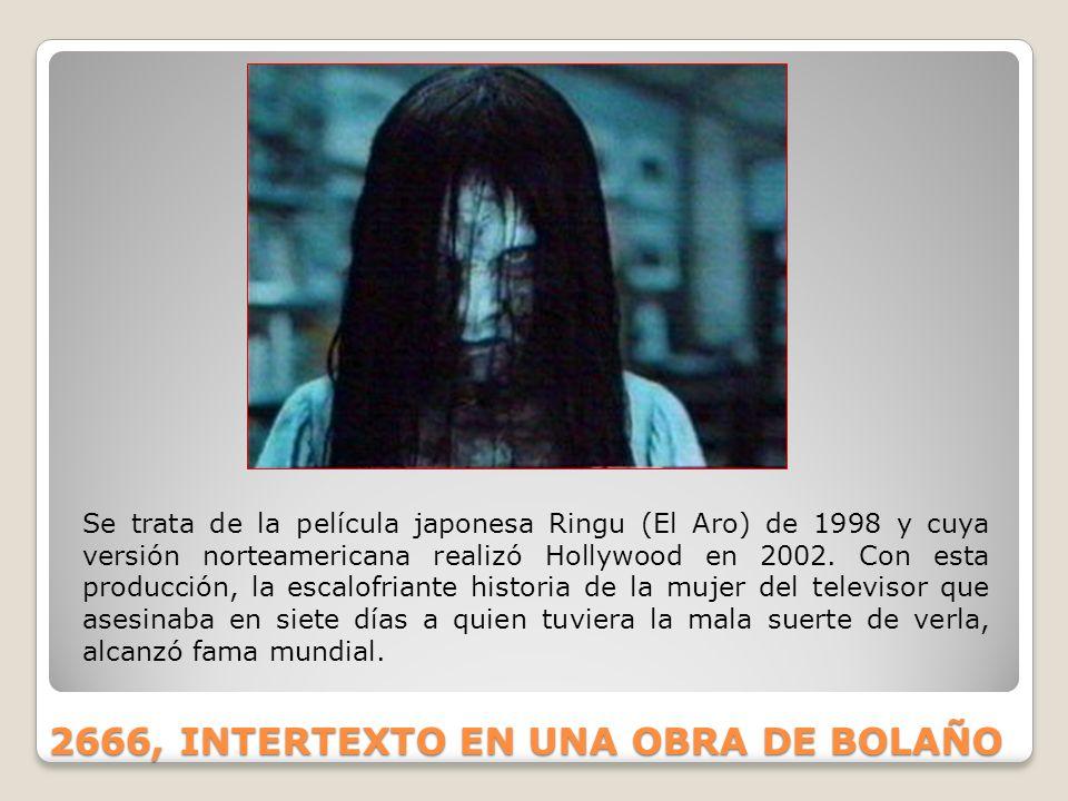 2666, INTERTEXTO EN UNA OBRA DE BOLAÑO