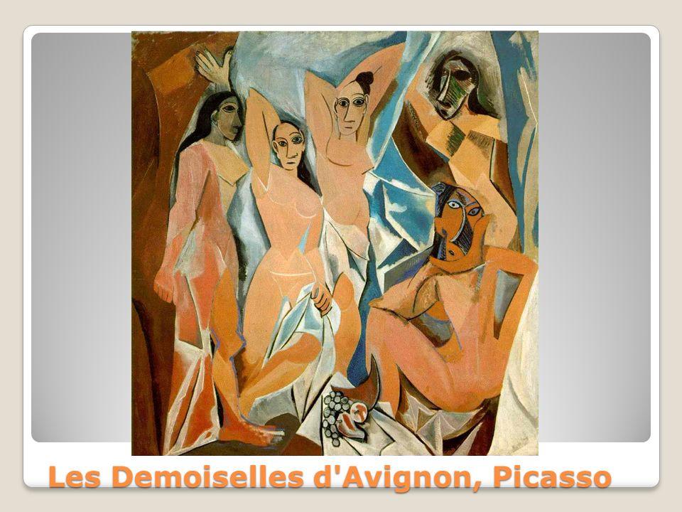 Les Demoiselles d Avignon, Picasso