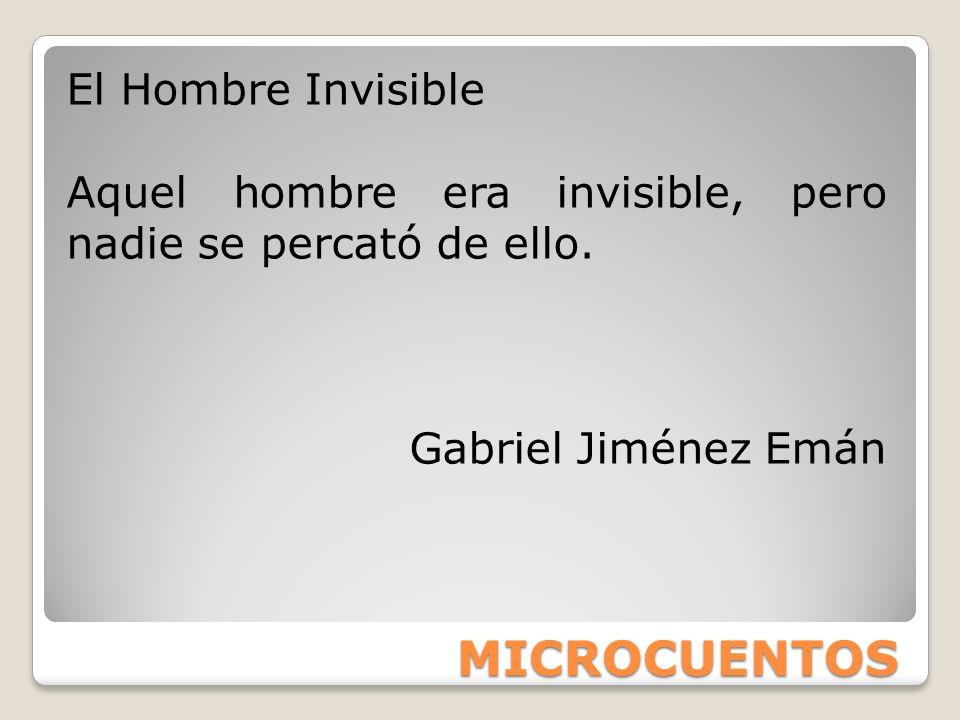 MICROCUENTOS El Hombre Invisible