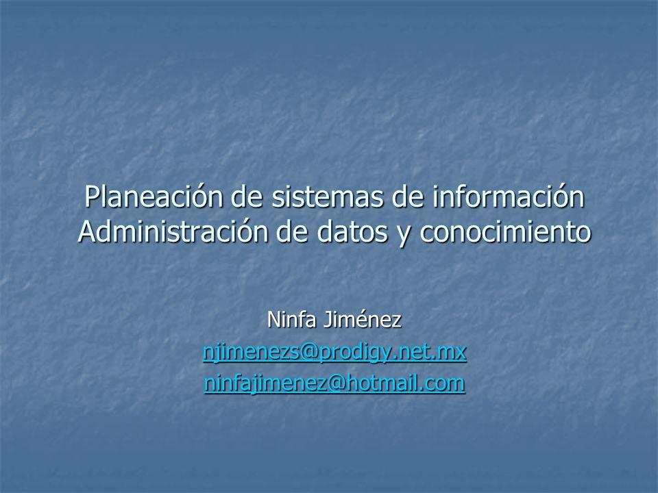 Ninfa Jiménez njimenezs@prodigy.net.mx ninfajimenez@hotmail.com