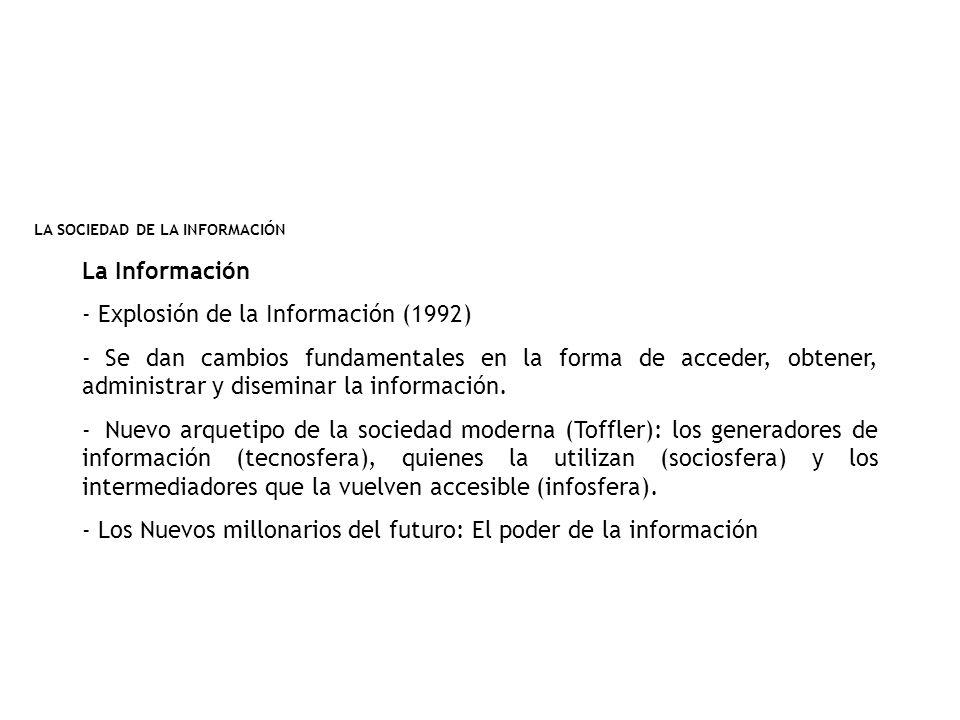 Explosión de la Información (1992)