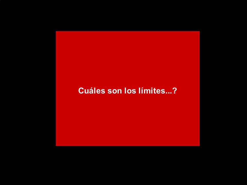 Cuáles son los límites...