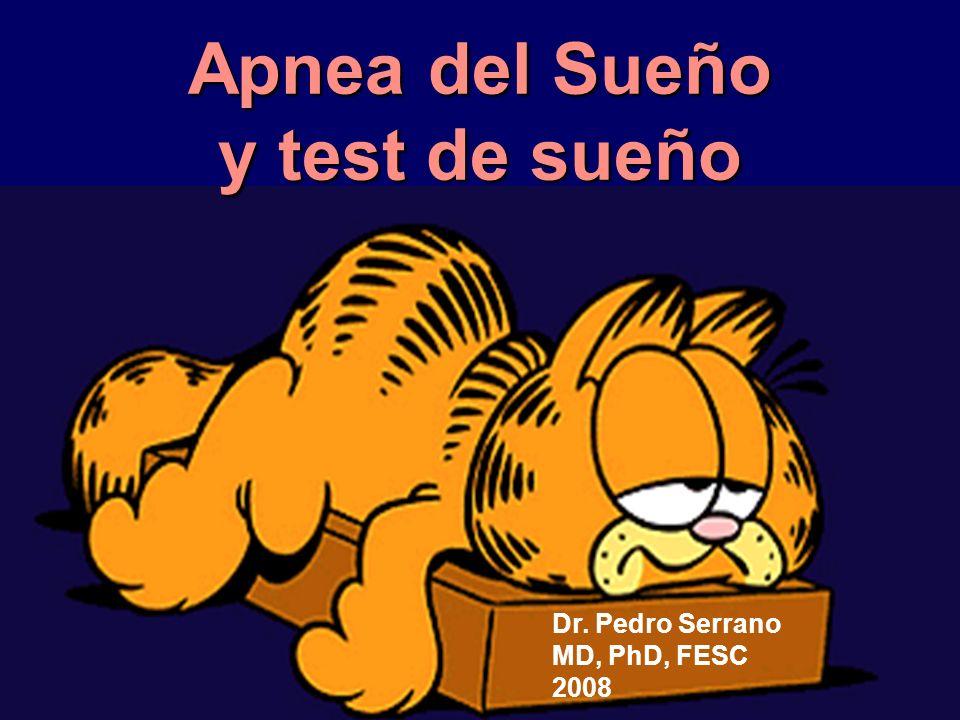 Apnea del Sueño y test de sueño