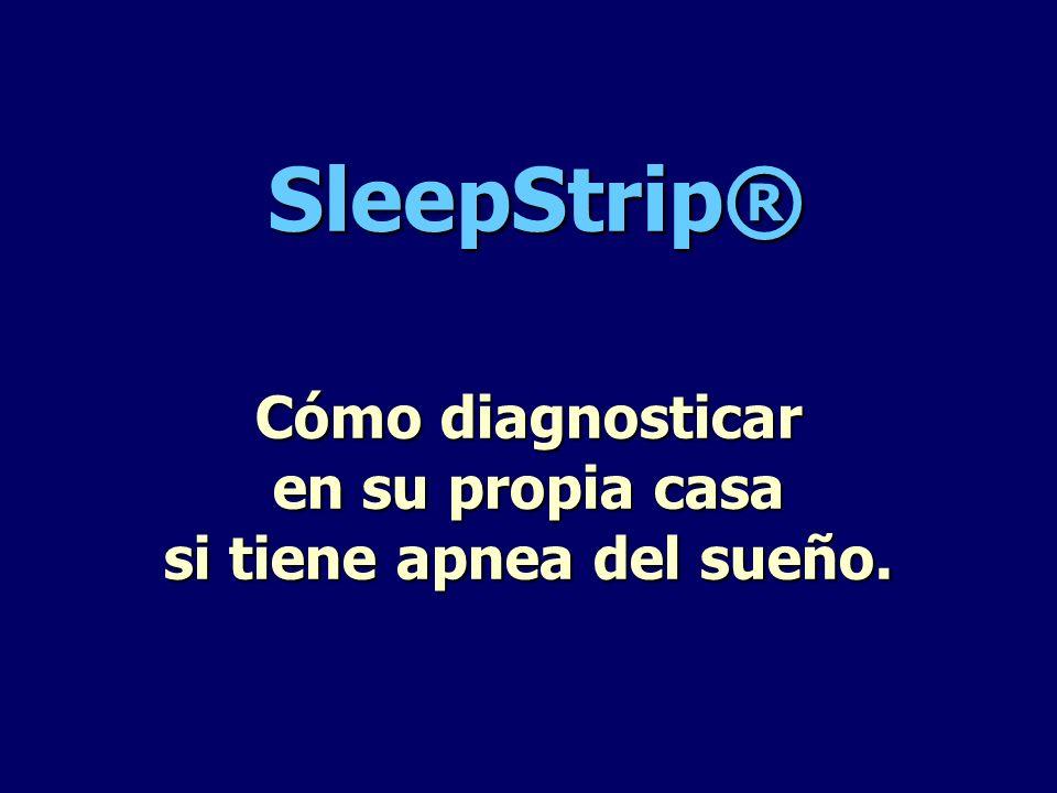 Cómo diagnosticar en su propia casa si tiene apnea del sueño.