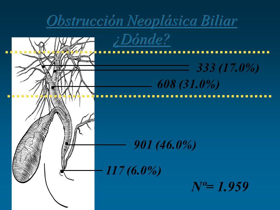 Obstrucción Neoplásica Biliar