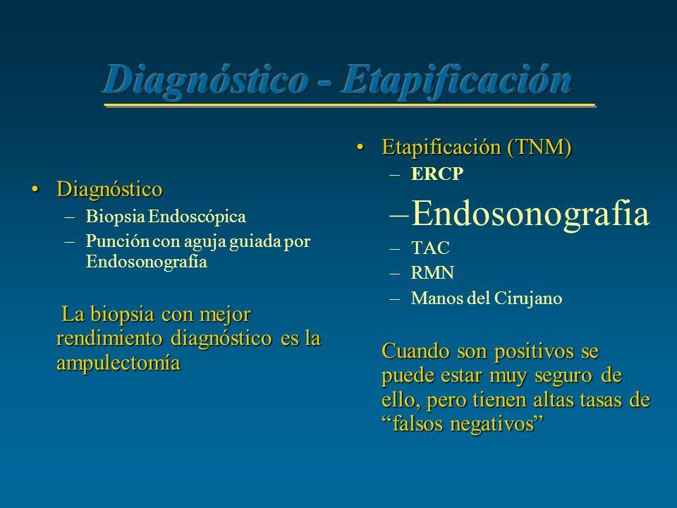 Diagnóstico - Etapificación