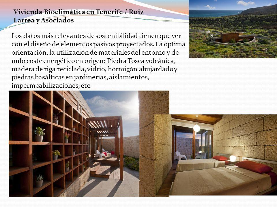 Vivienda Bioclimática en Tenerife / Ruiz Larrea y Asociados