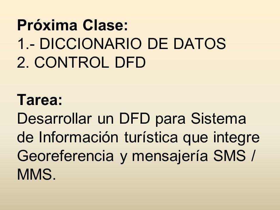 Próxima Clase: 1. - DICCIONARIO DE DATOS 2