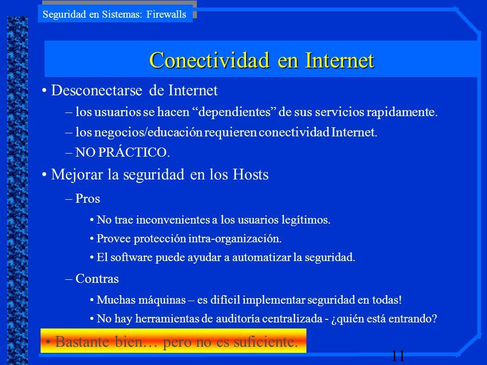 Conectividad en Internet