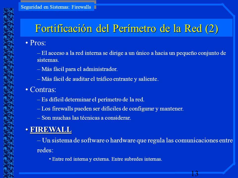 Fortificación del Perímetro de la Red (2)