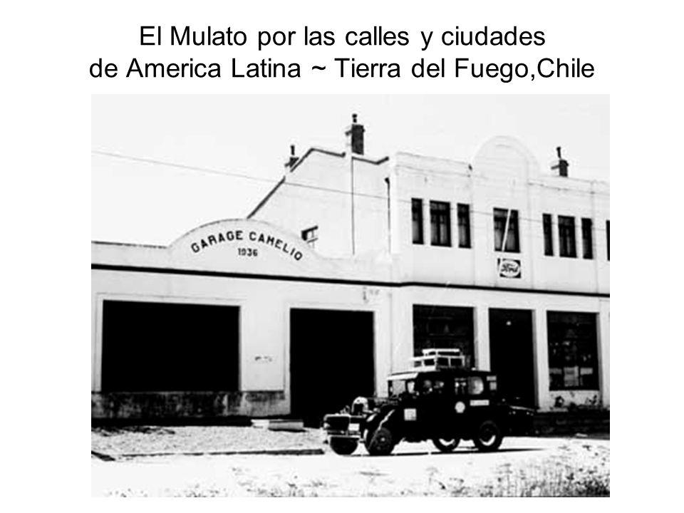 El Mulato por las calles y ciudades de America Latina ~ Tierra del Fuego,Chile
