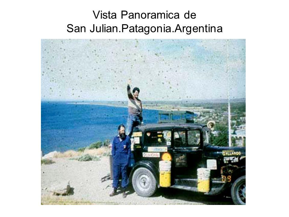 Vista Panoramica de San Julian.Patagonia.Argentina