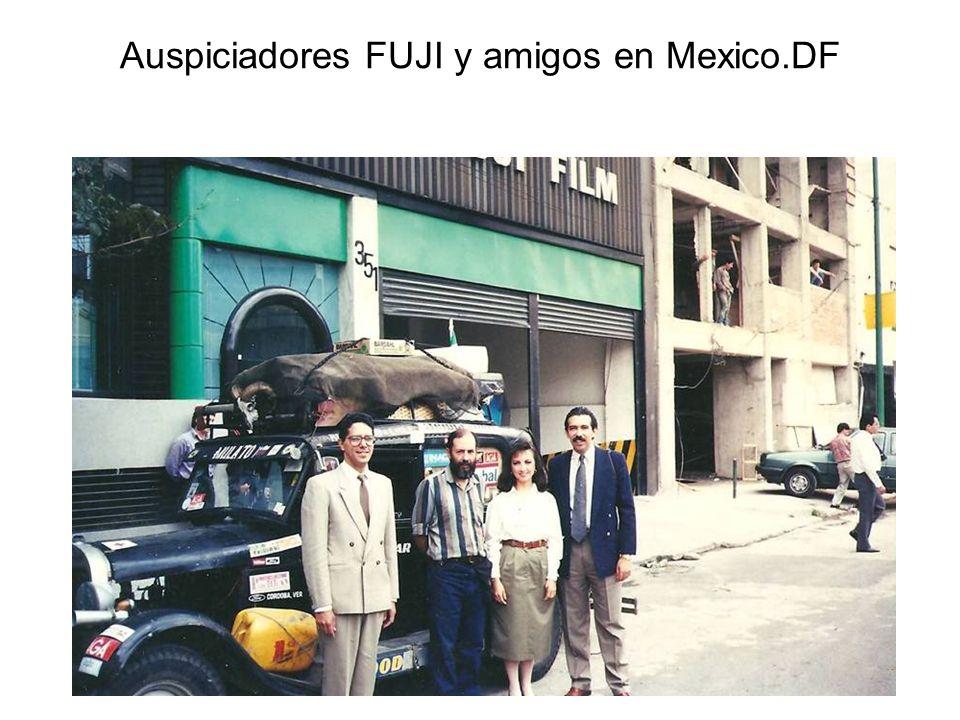 Auspiciadores FUJI y amigos en Mexico.DF