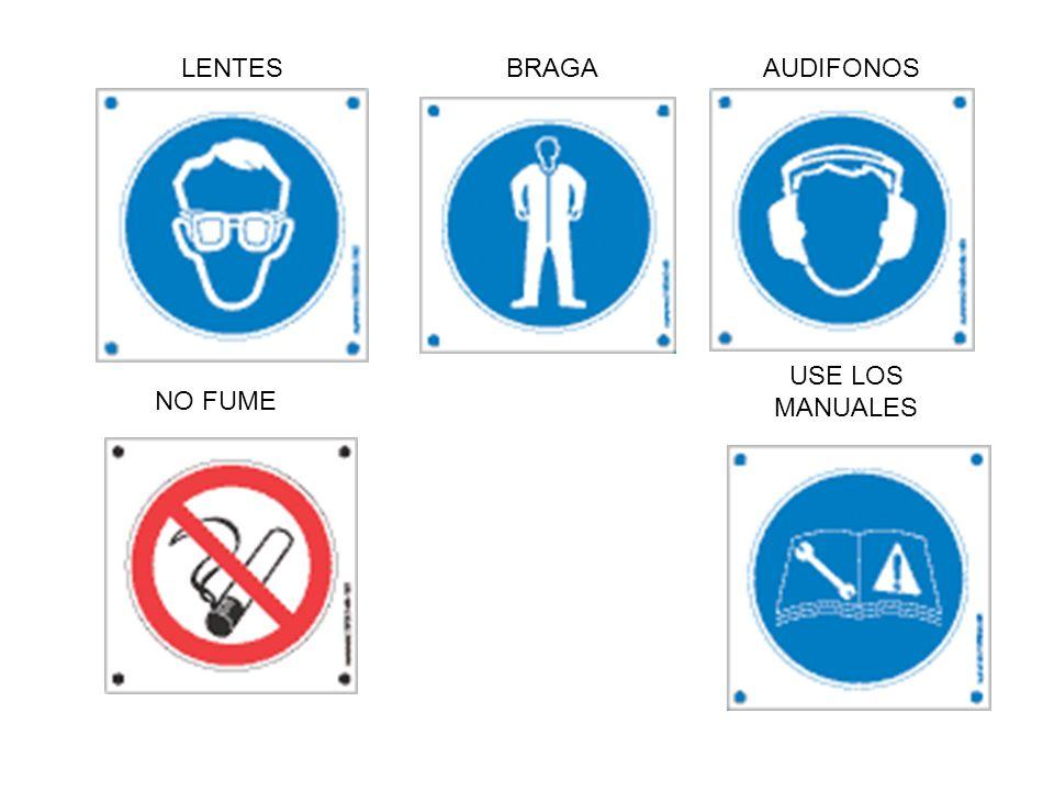 LENTES BRAGA AUDIFONOS USE LOS MANUALES NO FUME