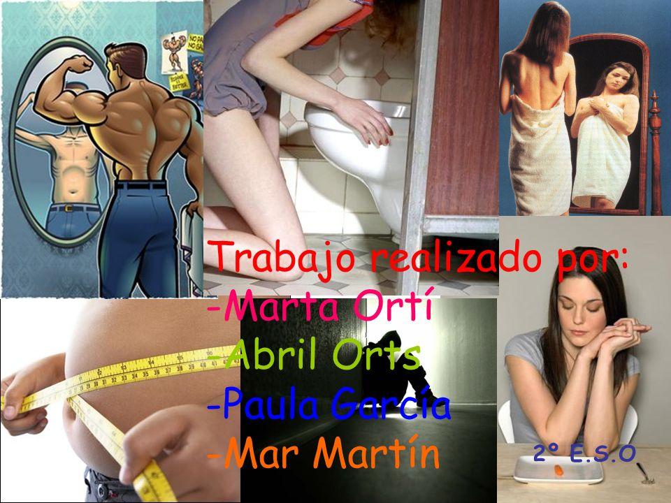Trabajo realizado por: -Marta Ortí -Abril Orts -Paula García -Mar Martín