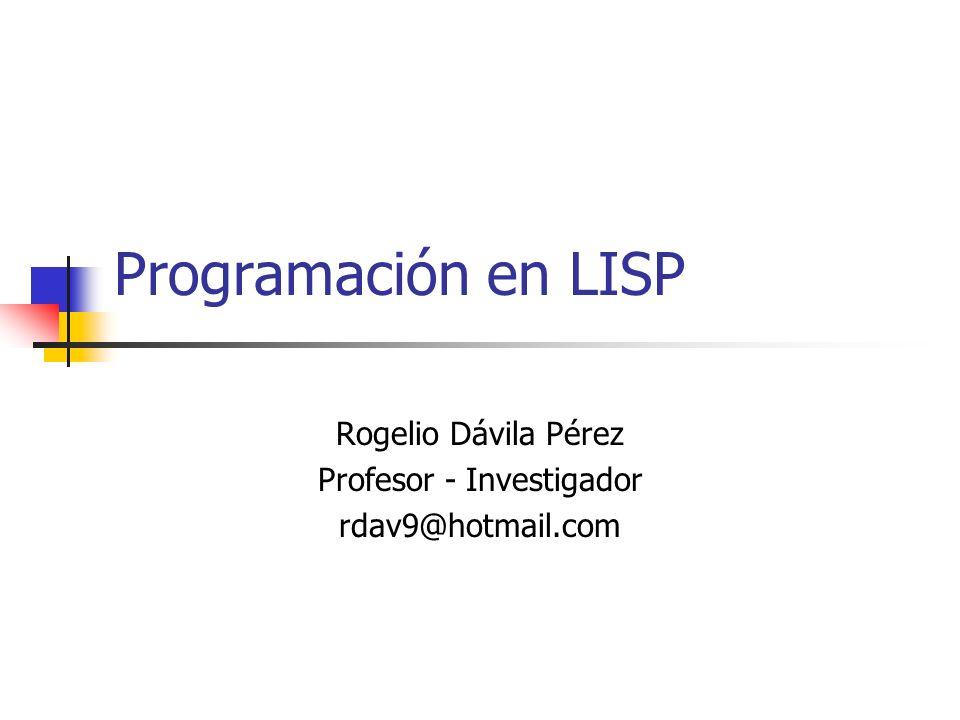 Rogelio Dávila Pérez Profesor - Investigador rdav9@hotmail.com