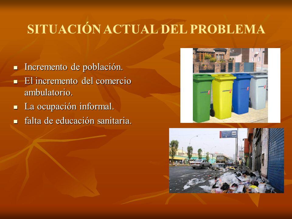 SITUACIÓN ACTUAL DEL PROBLEMA