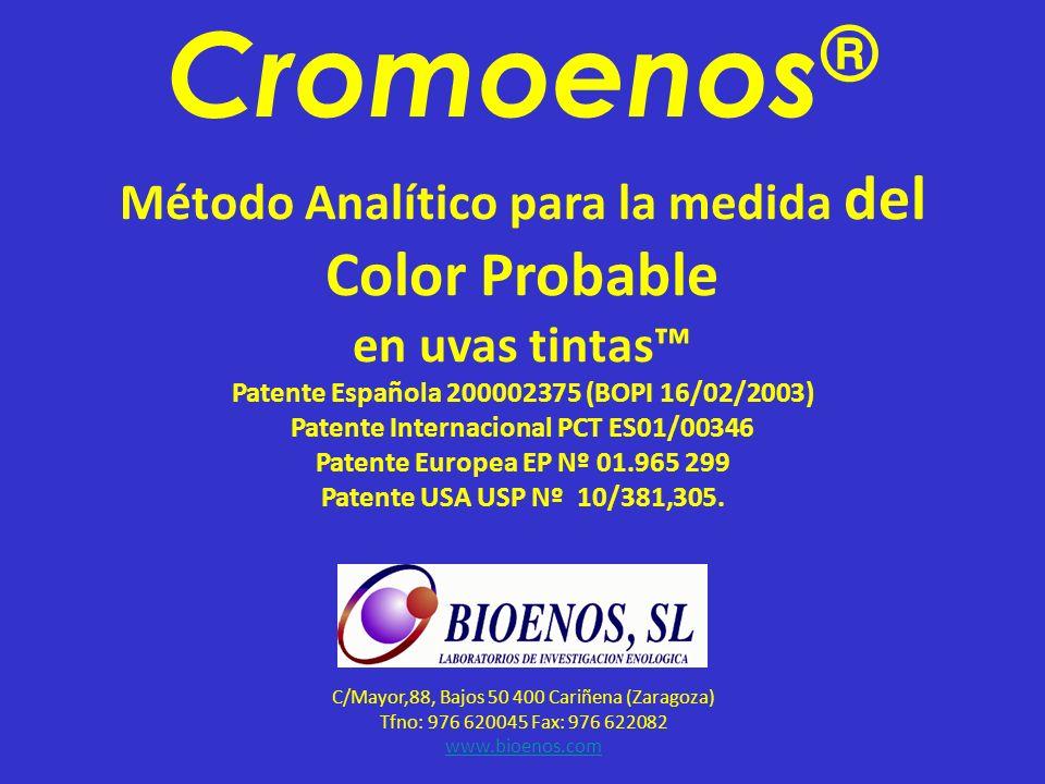 Cromoenos® Método Analítico para la medida del Color Probable
