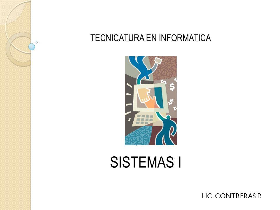 TECNICATURA EN INFORMATICA