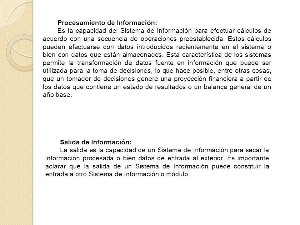 Procesamiento de Información: